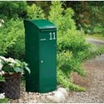 Boîte aux lettres 028 acier thermopoudré vert