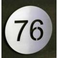 numéros de maison en acier inox