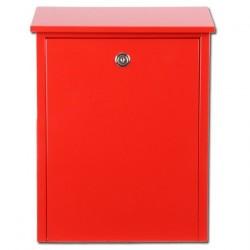 boîte aux lettres '002' rouge