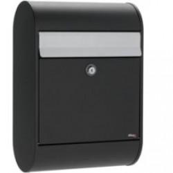 boîte au lettre 0005 noir clapet grise