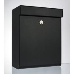 Boîte aux lettres Allux 'rofdnud' acier thermopoudré noir