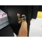 Boîte aux lettres Allux 'rofdnud' acier thermopoudré rouge