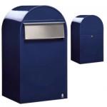 Boîte aux lettres en acier inoxydable avec grand rabat