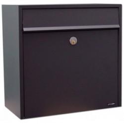Boîte aux lettres tl002  acier thermopoudré noir