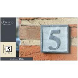 naamplaat of huisnummer in arduin KLEINTJE